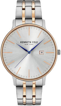 Kenneth Cole New York Kenneth Cole Men's Two-Tone Stainless Steel Bracelet Watch 42mm KC15095003