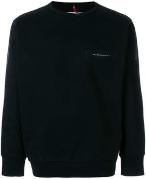 Oamc top stitch detail sweatshirt