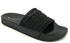 Bamboo Black Vibrance Slide - Women