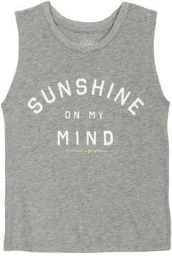 Spiritual Gangster Kids Girls Sunshine On My Mind Muscle Tank 8158295