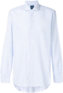 Barba striped fitted shirt