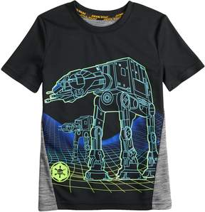 Star Wars A Collection For Kohls Boys 4-7x a Collection for Kohl'sAT-AT Walker Tee