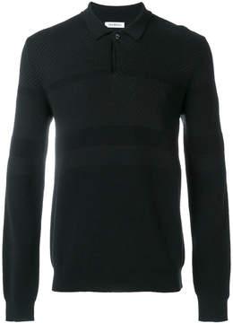 Dirk Bikkembergs longsleeved polo shirt