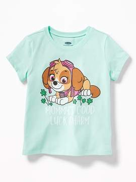 Old Navy Paw Patrol Mommy's Good Luck Charm Tee for Toddler Girls
