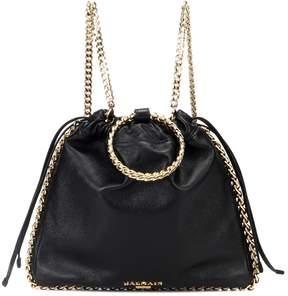 Balmain Blink leather backpack