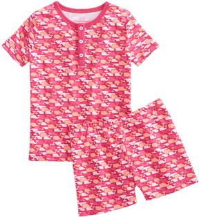Vineyard Vines Girls Whale Outline Lounge Set