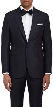 Giorgio Armani Men's Soho Dot-Pattern Silk One-Button Tuxedo Jacket