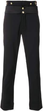 Pierre Balmain slim fit tailored trousers
