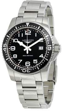 Longines HydroConquest Black Dial Stainless Steel Men's Watch