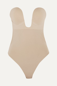 Fashion Forms U-plunge Self-adhesive Backless Bodysuit - Neutral