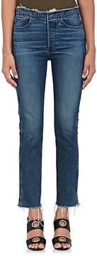 3x1 Women's W4 Raw Edge Shelter Slim Jeans