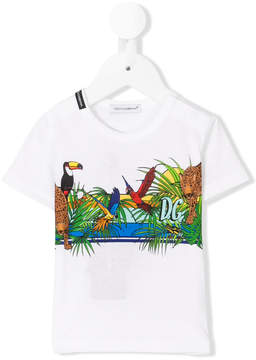 Dolce & Gabbana jungle T-shirt