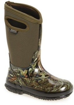 Bogs Boy's Classic Camo Insulated Waterproof Boot