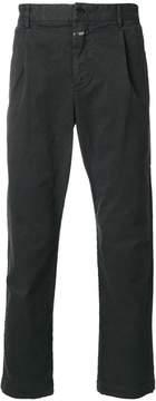 Closed regular fit trousers
