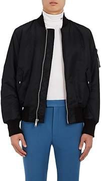 Calvin Klein Men's Shearling-Lined Bomber Jacket