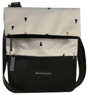 Sherpani Small Pica Crossbody Bag - White
