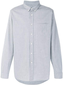 Closed button down shirt
