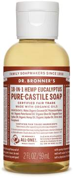 Dr. Bronner's Eucalyptus Castile Liquid Soap by 2oz Liquid Soap)