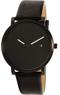 Skagen Men's Hagen SKW6308 Black Leather Quartz Fashion Watch
