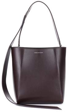 Calvin Klein Small Bucket leather tote