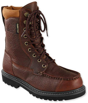 L.L. Bean Men's Gore-Tex Kangaroo Upland Boots, Moc-Toe Leather