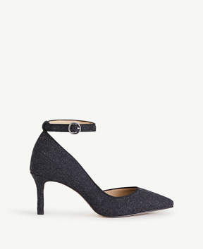 Ann Taylor Stephania Flannel D'Orsay Pumps