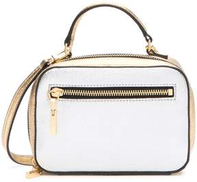 Milly Mixed Metallic Leather Mini Satchel