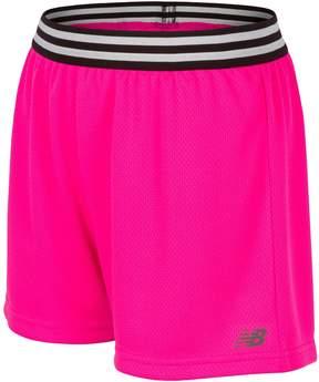New Balance Girls 7-16 Core Shorts