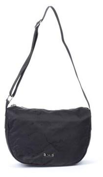Alviero Martini Women's Black Polyamide Shoulder Bag.