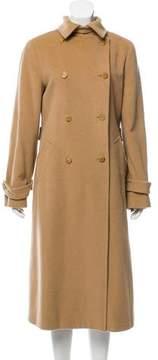 Barneys New York Barney's New York Angora-Blend Long Coat