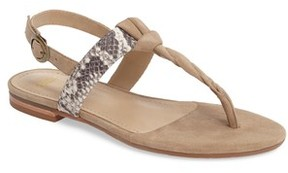 Johnston & Murphy Women's Holly Twisted T-Strap Sandal
