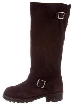 Marni Suede Knee-High Boots