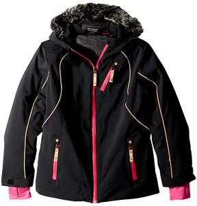 Spyder Posh Faux Fur Jacket Girl's Coat