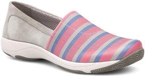 Dansko Harriet Stretch and Suede Slip-Ons