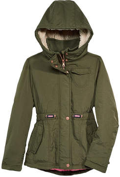 Jessica Simpson Hooded Coat, Big Girls (7-16)
