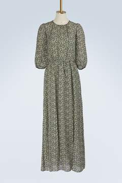 Vanessa Bruno Silk Ijka long dress