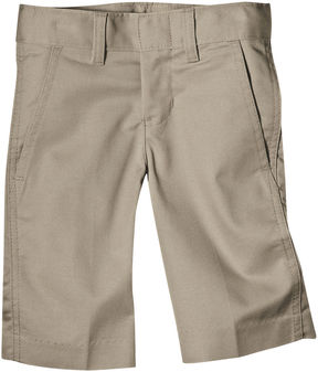 Dickies Boys Classic Fit FlexWaist Flat Front Short- Big Kid