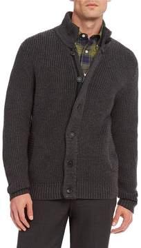 Daniel Cremieux Signature Merino Wool Full-Zip Sweater