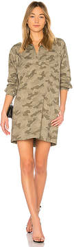 ATM Anthony Thomas Melillo Stretch Cotton Shirt Dress