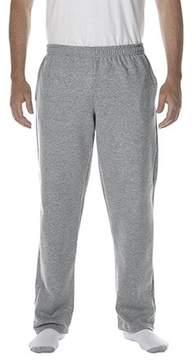 Gildan Men's Open Bottom Pocketed Sweatpant