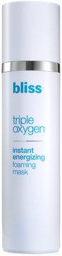 Bliss Triple Oxygen Instant Energizing Foaming Mask, 3.4 Oz