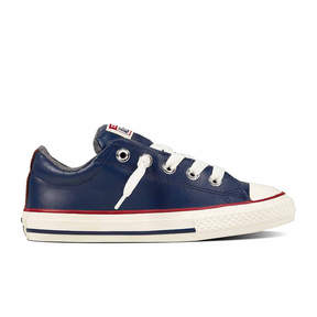 Converse Chuck Taylor All Star Street Leather And Fleece - Slip Boys Sneakers - Little Kids/Big Kids