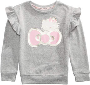 Hello Kitty Foil-Print Sweater, Little Girls (4-6X)
