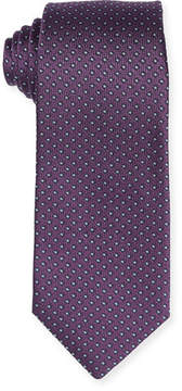 Isaia Micro-Box Silk Tie