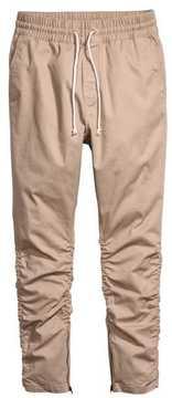 H&M Cotton Twill Joggers