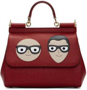 Dolce & Gabbana Red Medium Designers Miss Sicily Bag