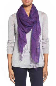 Eileen Fisher Women's Airy Linen Blend Scarf