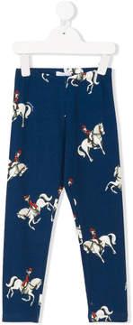 MonnaLisa horses print leggings