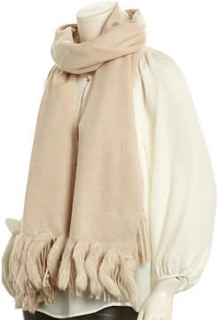 La Fiorentina Ivory Wool Scarf