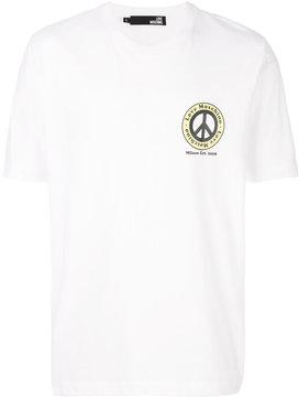 Love Moschino peace logo T-shirt